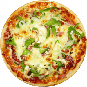 Capsicum Onion Pizza
