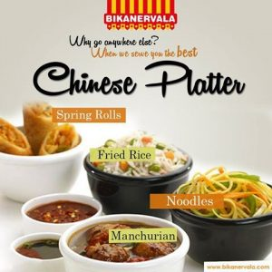 Veg Chinese Platter