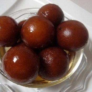 Gulab Jamun Plate (2 pcs)